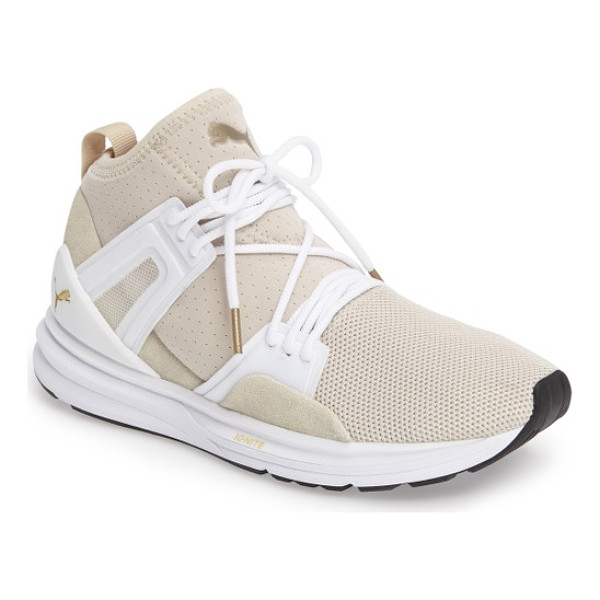 PUMA b.o.g. limitless high top training shoe - A high-top training shoe with a knit upper and cushioned...