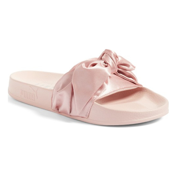 PUMA fenty  by rihanna bow slide - Part of a collaboration with Rihanna's FENTY label, a...