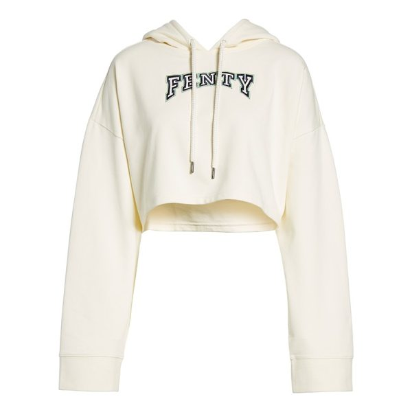 PUMA fenty  by rihanna crop hoodie - Your team just got an edgy new player in this cropped...