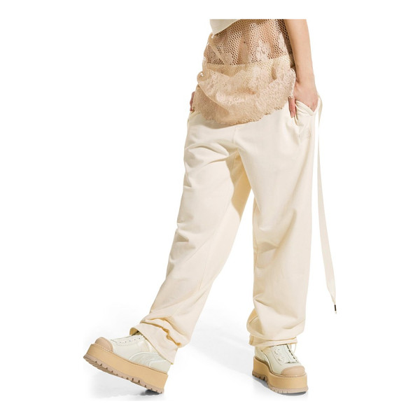 PUMA fenty  by rihanna gathered ankle sweatpants - These tough-luxe sweatpants are framed with an elegant...