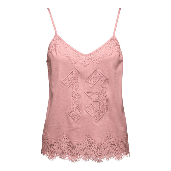 PUMA fenty  by rihanna lace camisole - Frills and lace turn up the luxury on a soft jersey...