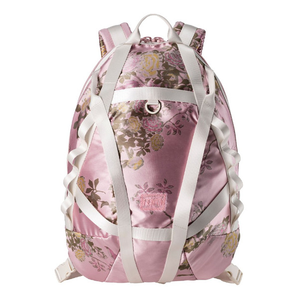 PUMA fenty  by rihanna parachute backpack - A lustrous backpack ornamented with floral brocade injects