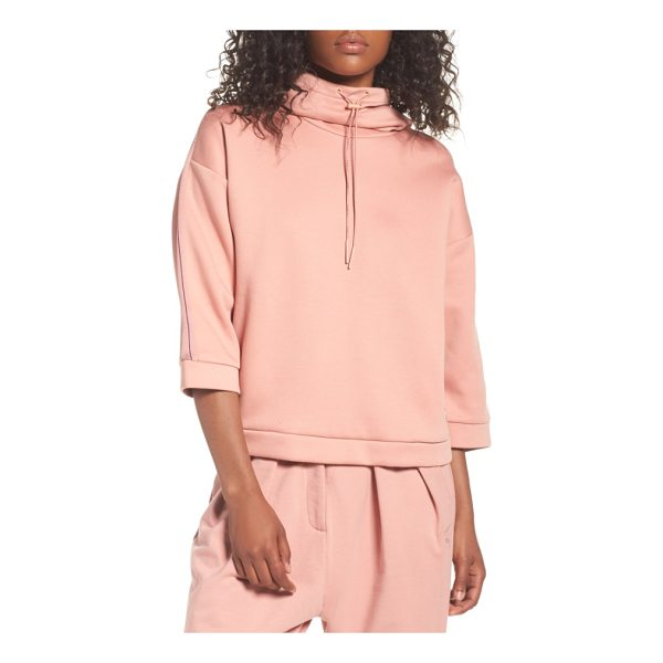 PUMA funnel neck pullover - This loosely fitted pullover delivers comfort and style...