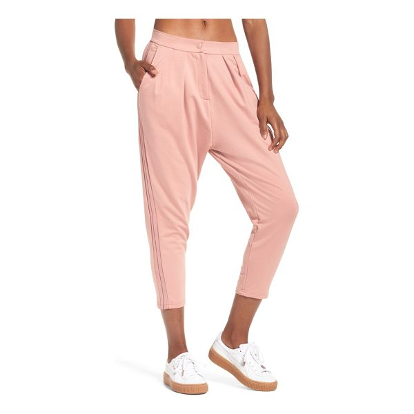 PUMA trouser sweatpants - Supersoft French-terry sweatpants are revamped with...
