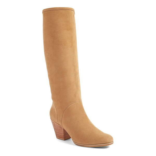 RACHEL COMEY 'carrier' tall boot - Buttery-smooth nubuck leather enhances the soft profile of...