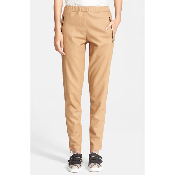 RAG & BONE eugenia pants - A felted wool blend elevates the sporty vibe of...