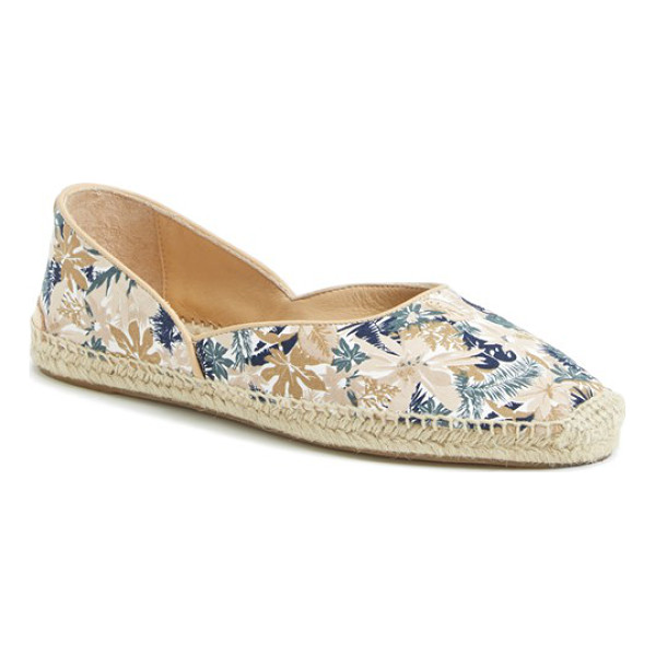 RAG & BONE georgie espadrille flat - Braided jute lends an earthy vibe to a boho-chic espadrille...