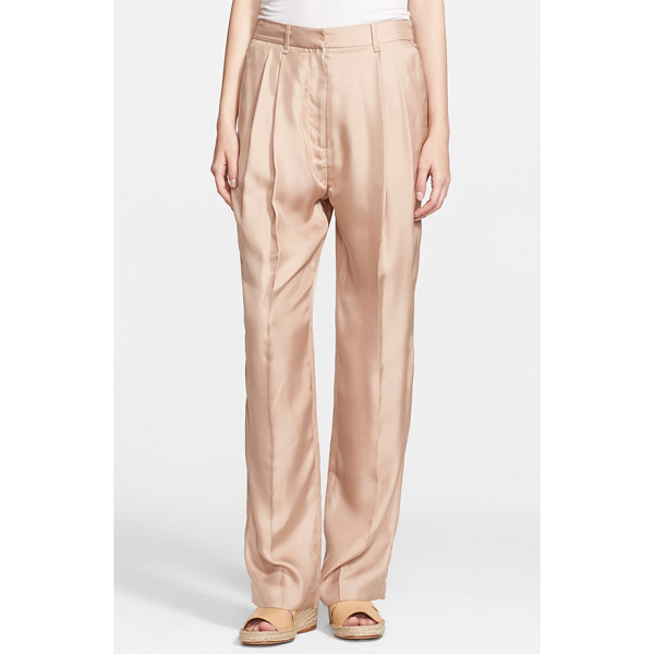 RAG & BONE sally pleated silk pants - Full, relaxed pants shaped by deft pleats are cut from...