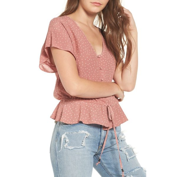 RAILS bretton button down top - Drapey and ruffled to pair with your favorite high-waisted...