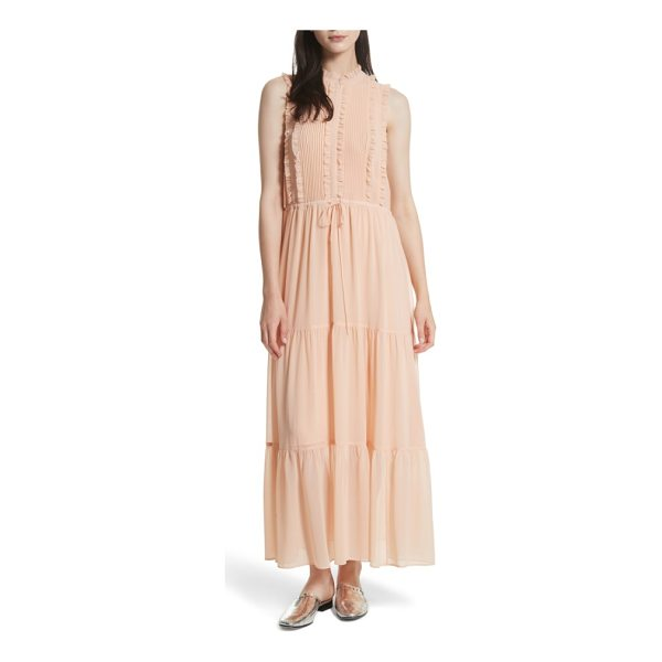 REBECCA MINKOFF ami maxi dress - Equal parts ethereal and romantic, this ruffled maxi with a...