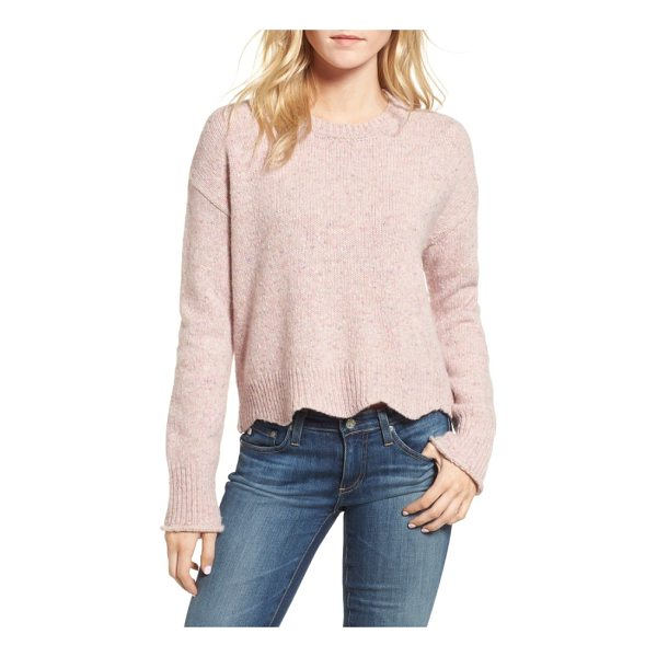 REBECCA MINKOFF cecelia sweater - This shaker-stitch sweater is knit from yarns so...