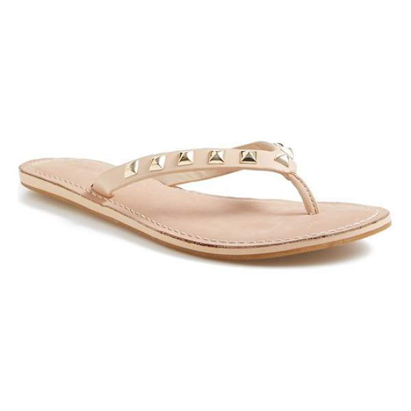 REBECCA MINKOFF fiona thong sandal - The Fiona sandal adds a little Minkoff attitude to the...