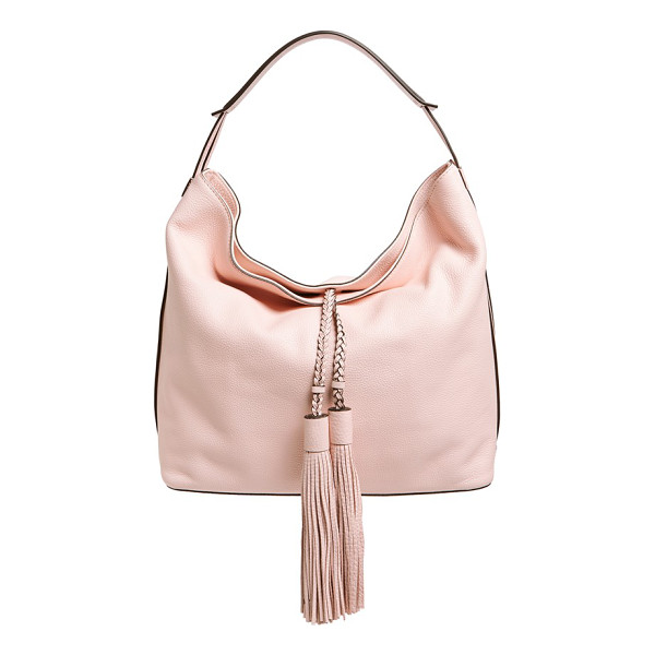 REBECCA MINKOFF Isobel hobo - Oversized tassel embellishments add a bold, retro-cool...