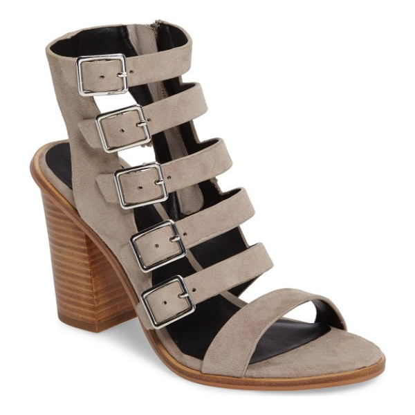 REBECCA MINKOFF jenna cage sandal - A sandal that means business when it comes to modern style,...