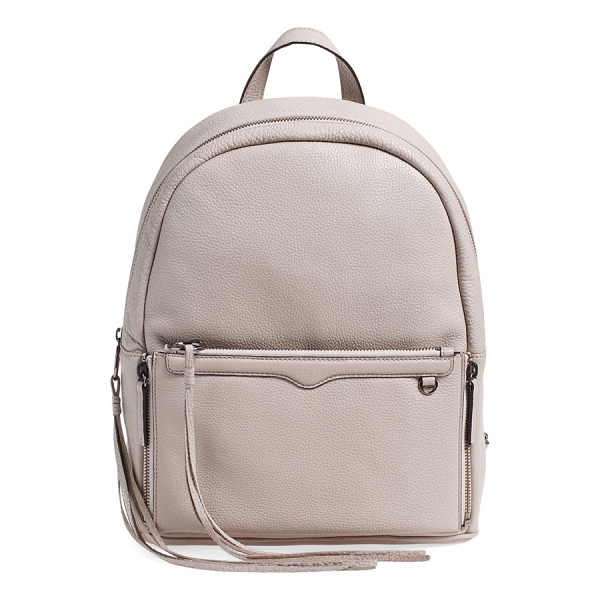 REBECCA MINKOFF Lola backpack with detachable crossbody - Amp up your traveling style with a backpack that boasts a...