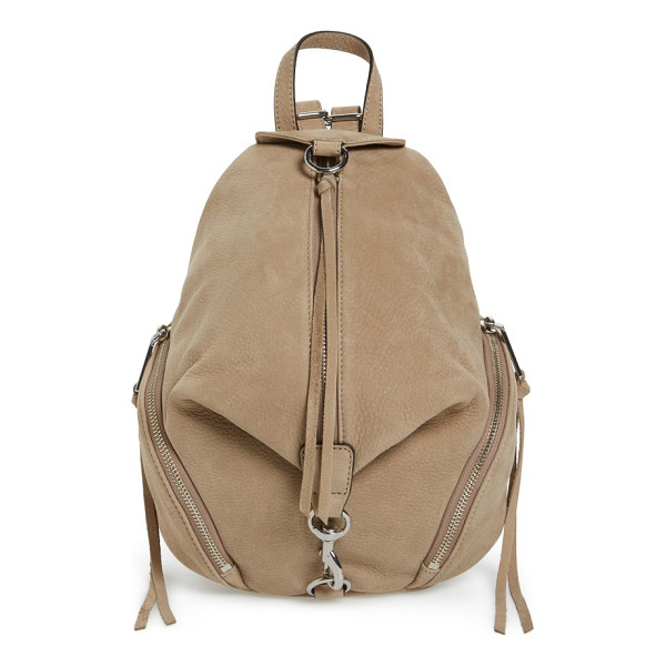 REBECCA MINKOFF medium julian nubuck backpack - Not too big, not too small, this version of the popular...
