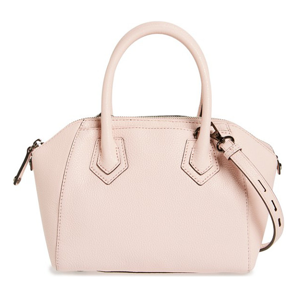 REBECCA MINKOFF Micro perry satchel - A petite, vintage-inspired dome satchel shaped from finely...
