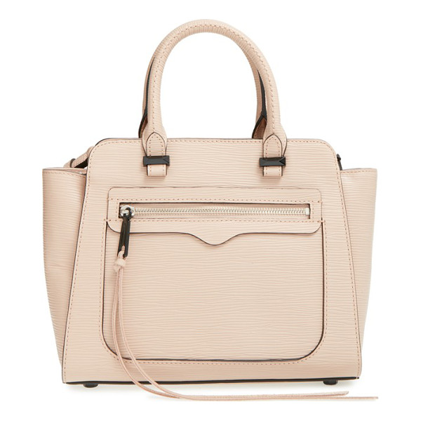 REBECCA MINKOFF Mini avery tote - A suave tote shaped from impeccably textured Saffiano...