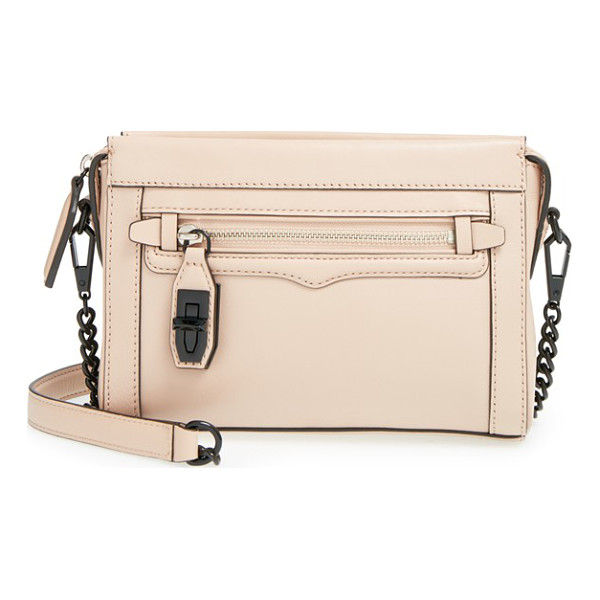 REBECCA MINKOFF Mini crosby crossbody bag - Enameled hardware adds to the modern, minimalist allure of...