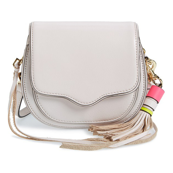 REBECCA MINKOFF Mini sydney crossbody bag - A signature curved flap adds upscale refinement to a...