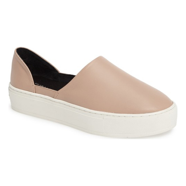 REBECCA MINKOFF nana slip-on - A classic slip-on is updated with a chic, d'Orsay-inspired...