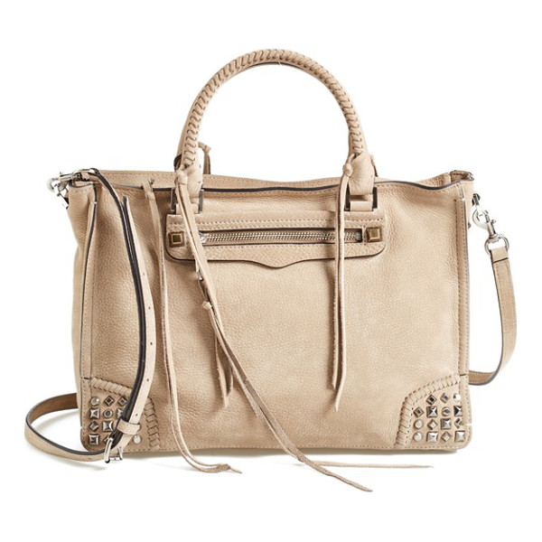 REBECCA MINKOFF Regan satchel - Mixed studs and dangling tassels underscore the street-chic...