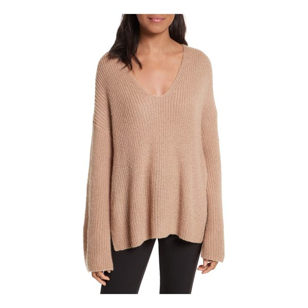 REBECCA MINKOFF remi oversize sweater - Better than a hug (almost), this lavishly oversized sweater...
