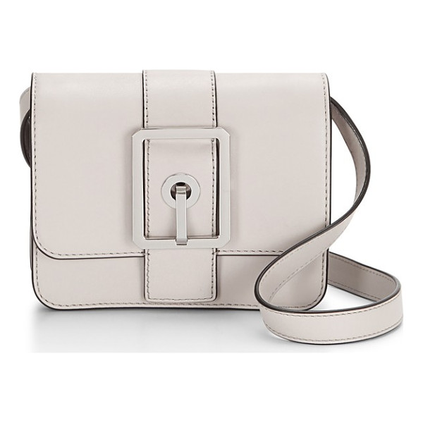 REBECCA MINKOFF small hook up crossbody bag - Glinting, tonal buckle hardware defines a structured