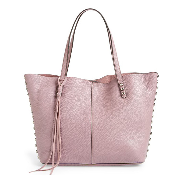 REBECCA MINKOFF Tote - Enameled studs and logo hardware add understated refinement...