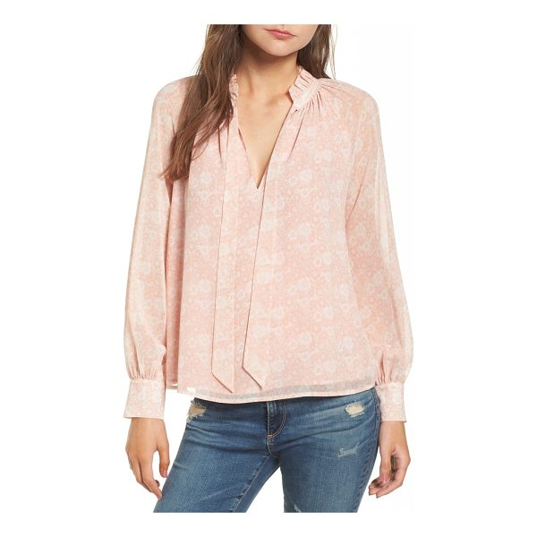 REBECCA MINKOFF viko blouse - Fluttery ties pull together the retro vibe of this floaty...