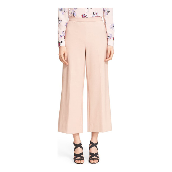 REBECCA TAYLOR palazzo suit pants - A cropped length bring a fresh, more feminine look to...