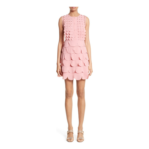 RED VALENTINO scallop point d'esprit dress - RED Valentino's unabashed femininity is on full display on...