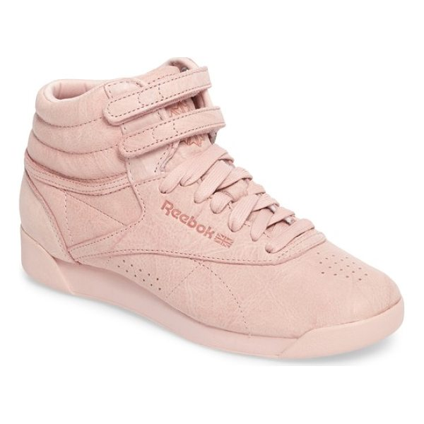 REEBOK freestyle hi sneaker - With a minimalist look that still delivers maximum appeal,...