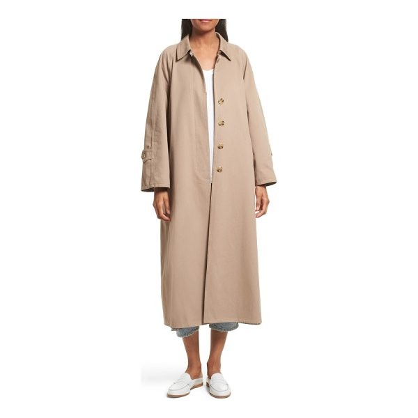 ROBERT RODRIGUEZ reversible trench coat - A play on masculine-feminine sensibilities, this oversize,...