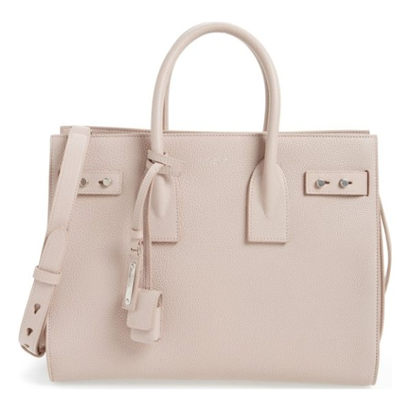 SAINT LAURENT small sac de jour tote - Subtle and elegant, this beautifully structured little tote...