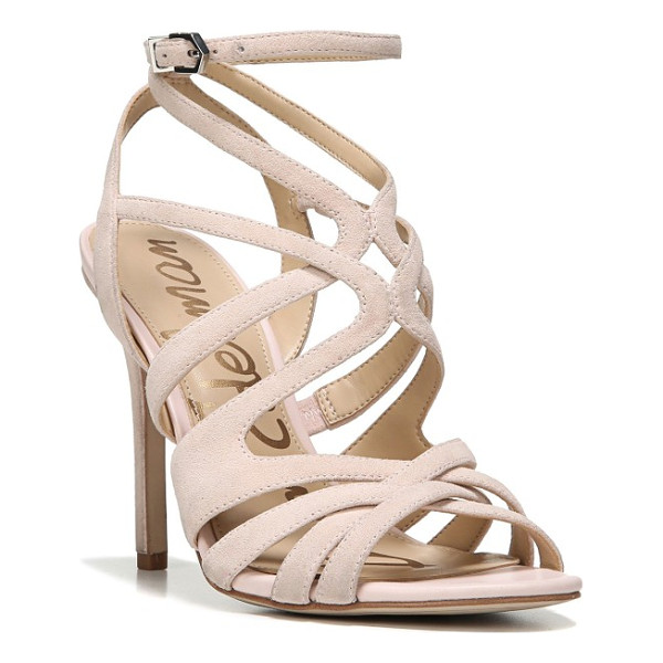 SAM EDELMAN aviana sandal - Swirling, graceful cage straps interlace on a stunning...