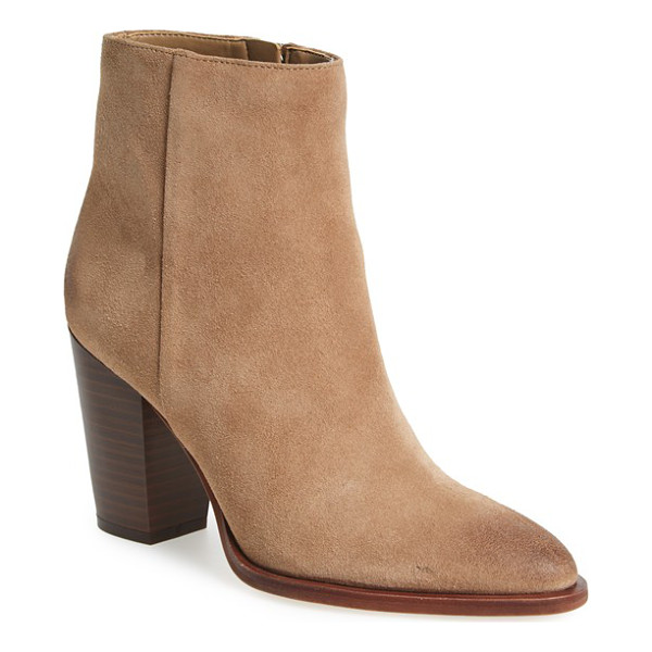 SAM EDELMAN blake bootie - A sleek, side-zip bootie is destined to be a staple in your...