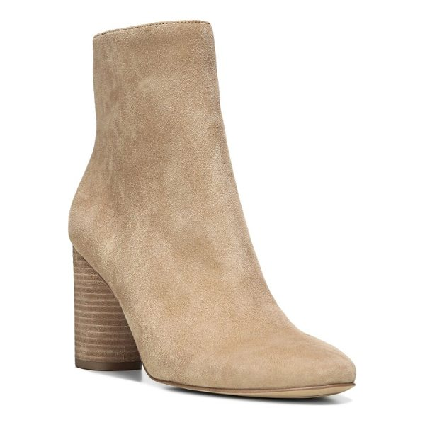 SAM EDELMAN corra bootie - A round column heel provides a poised finish for this...