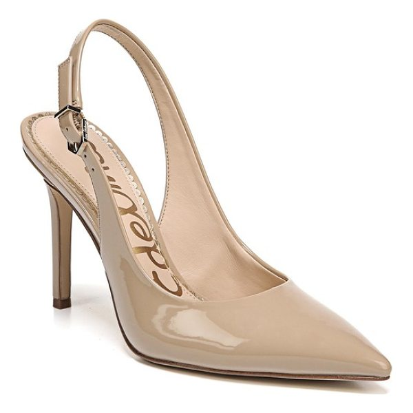 SAM EDELMAN hastings slingback pump - A slender heel provides a poised finishing touch for a...