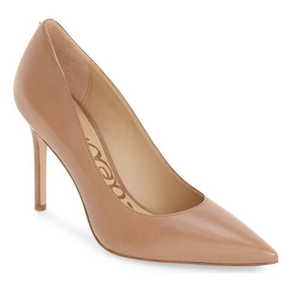 SAM EDELMAN hazel pointy toe pump - A classic stiletto adds leg-lengthening lift and timeless