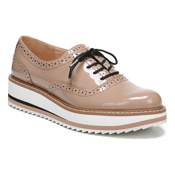 SAM EDELMAN jinelle oxford - Borrowed-from-the-boys brogueing pairs with a sporty...