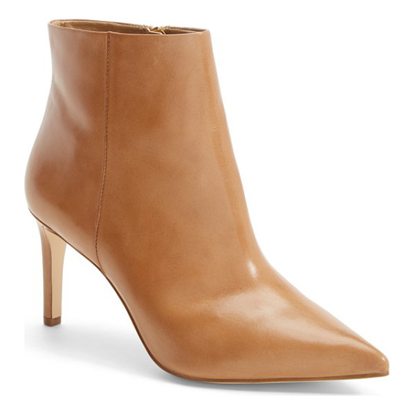 SAM EDELMAN karen pointy toe bootie - A sleek side-zip bootie is destined to be a go-to this...