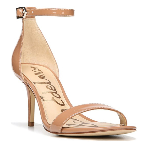SAM EDELMAN 'patti' ankle strap sandal - Achieve a barely there, leg-lengthening look in these...
