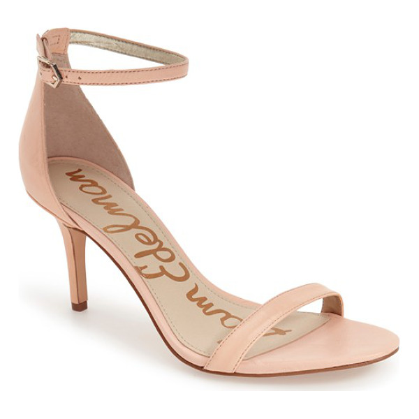 SAM EDELMAN patti ankle strap sandal - Achieve a barely there, leg-lengthening look in these...