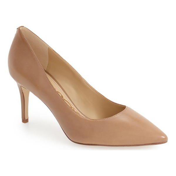 SAM EDELMAN 'tristan' pointy toe pump - A graceful pointed toe adds a leg-lengthening visual effect...