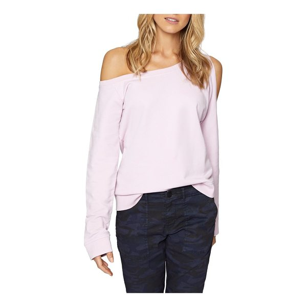 SANCTUARY alexi asymmetrical sweatshirt - Sexy shoulders are in the spotlight with the asymmetrical...