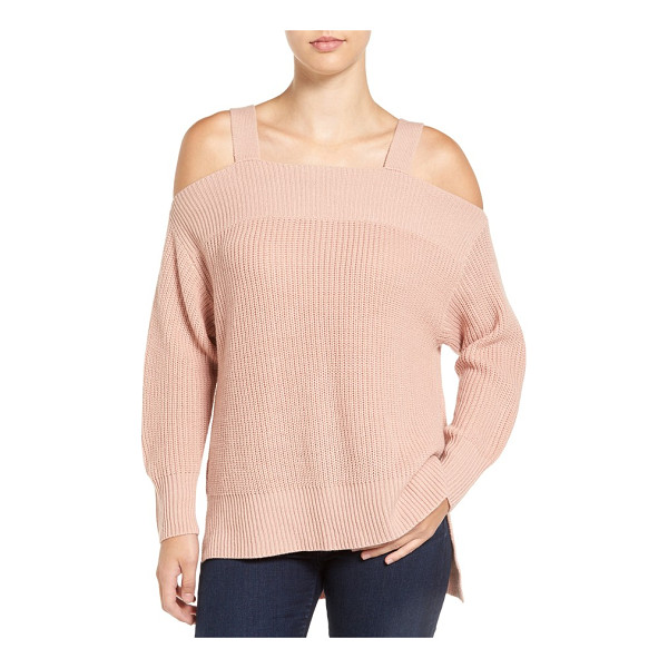 SANCTUARY amelie cold shoulder sweater - Show off shoulders while staying delightfully cozy in this...