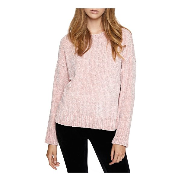 SANCTUARY chenille sweater - Chase away the chill with this drop-shoulder pullover that...