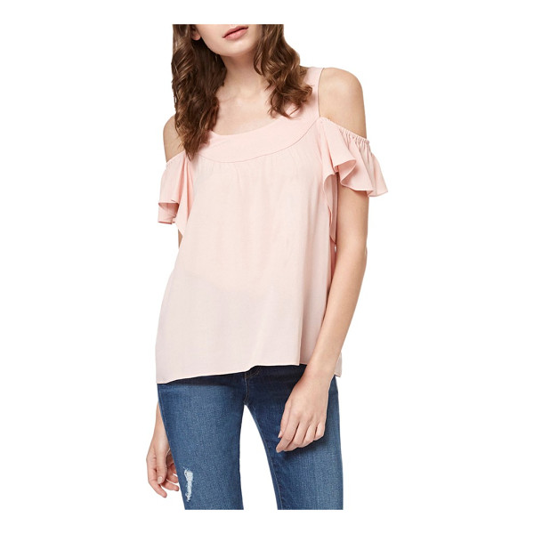 SANCTUARY lenox off the shoulder top - Ruffled sleeves add the pefect note of feminine frill to a...