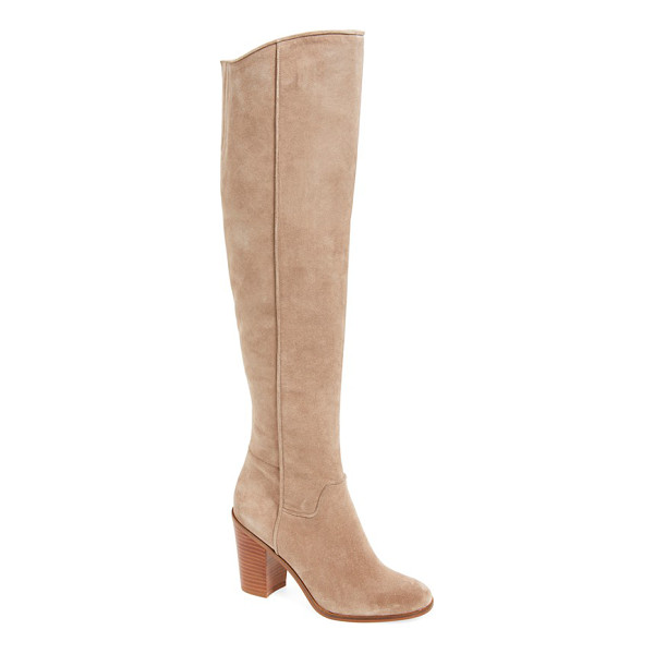 SARTO BY FRANCO SARTO 'faye' over the knee boot - This streamlined over-the-knee boot serves as a stunning...